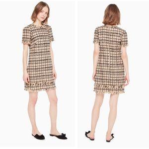 "COPY - kate spade ""heart-it bi-color"" tweed dress"